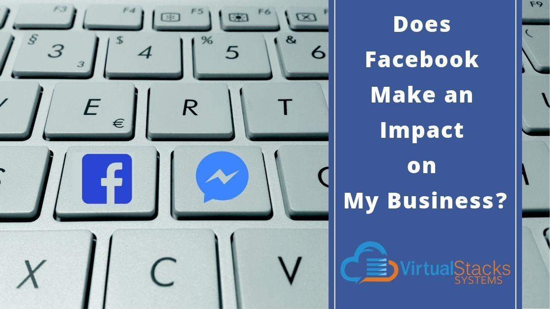 facebook logo on a keyboard