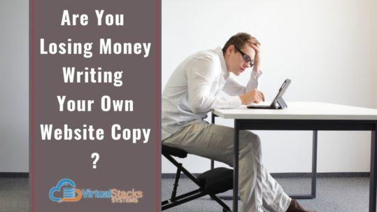 Man at computer, frustrated writer