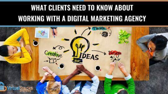 Working with a Marketing Agency