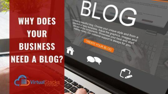 VS Why Does Your Business Need a Blog_